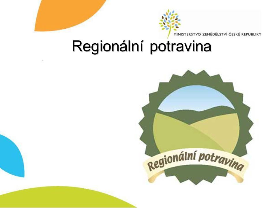 Regionální potravina