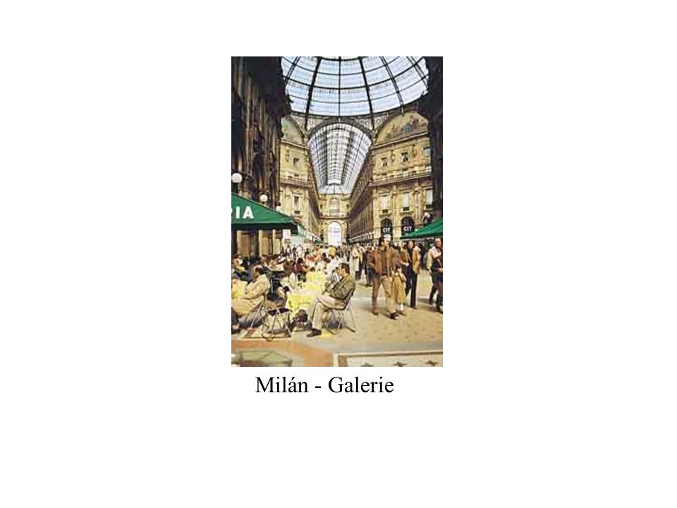 Milán - Galerie