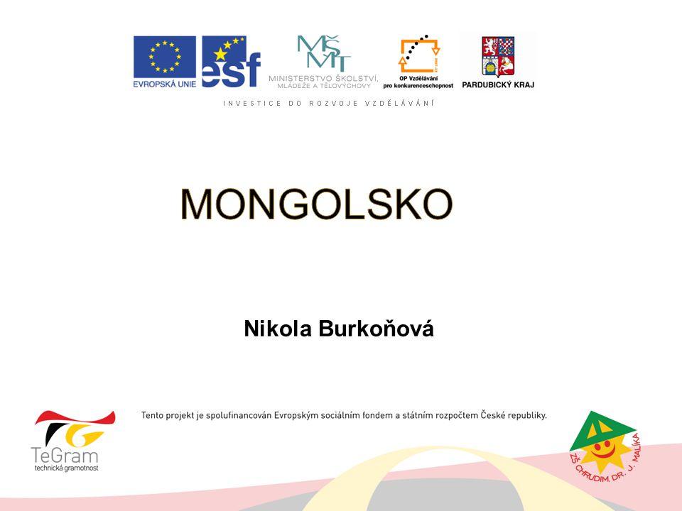 MONGOLSKO Nikola Burkoňová