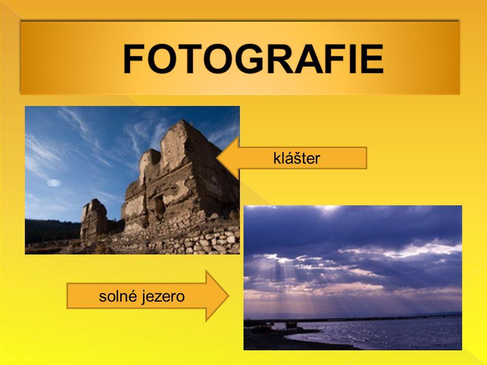 FOTOGRAFIE klášter solné jezero
