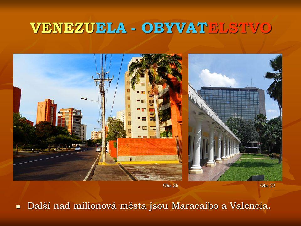 VENEZUELA - OBYVATELSTVO