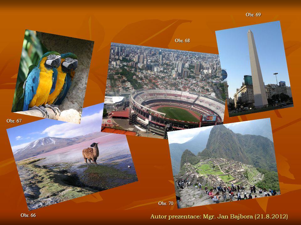 Autor prezentace: Mgr. Jan Bajbora (21.8.2012)