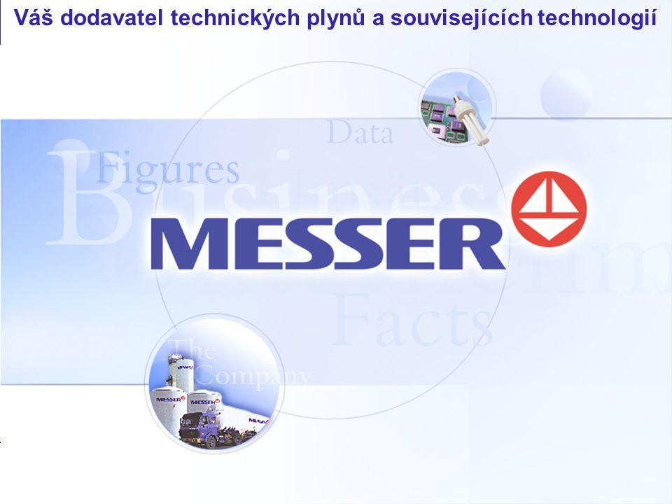 Váš dodavatel technických plynů a souvisejících technologií