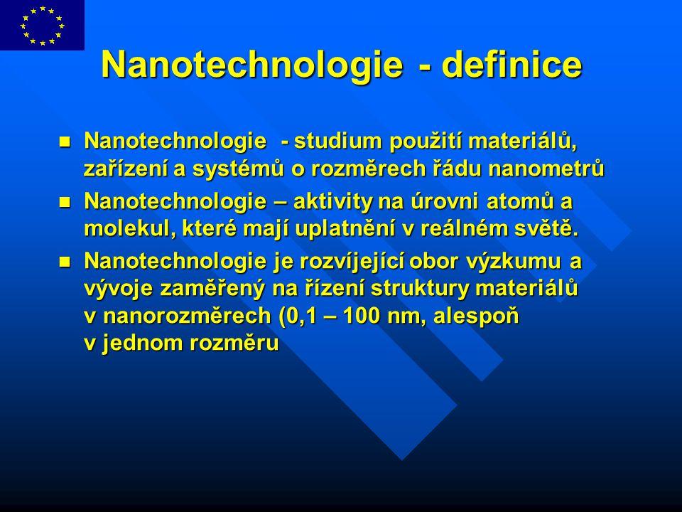 Nanotechnologie - definice