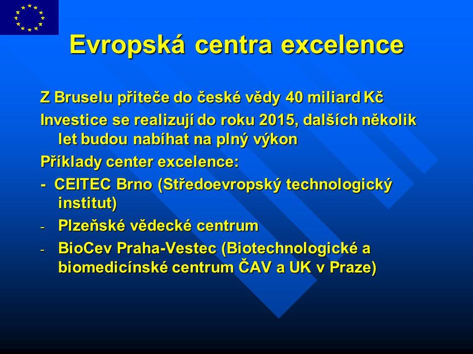 Evropská centra excelence