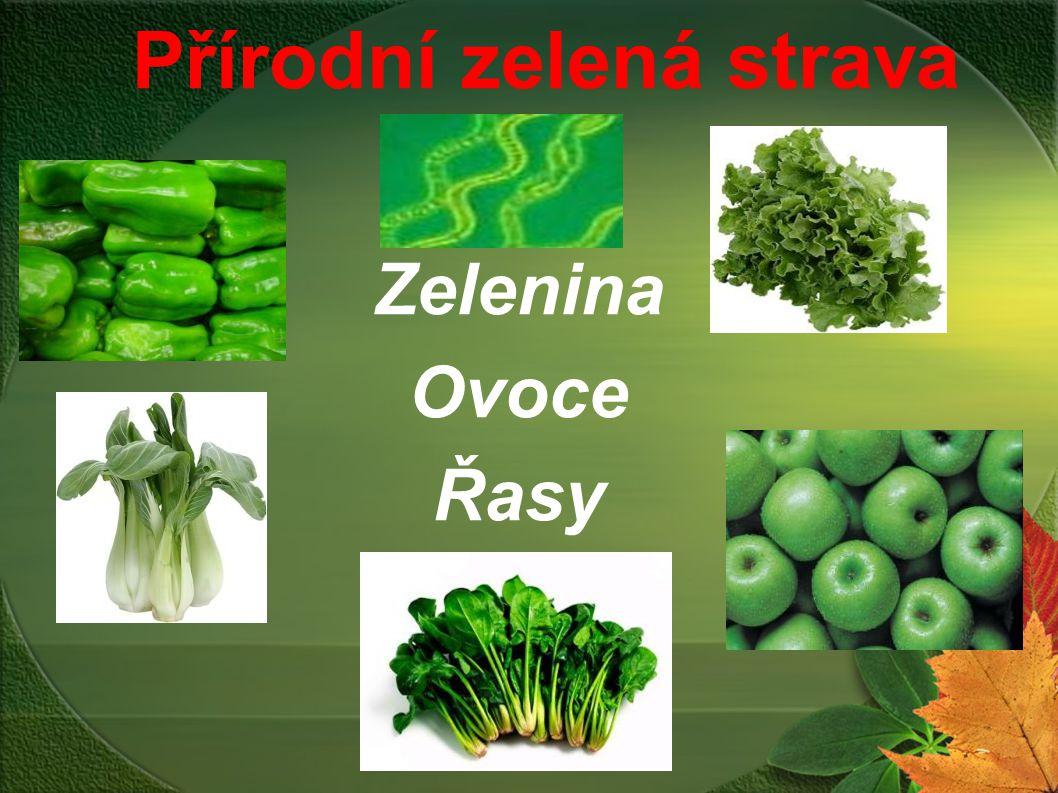 Přírodní zelená strava