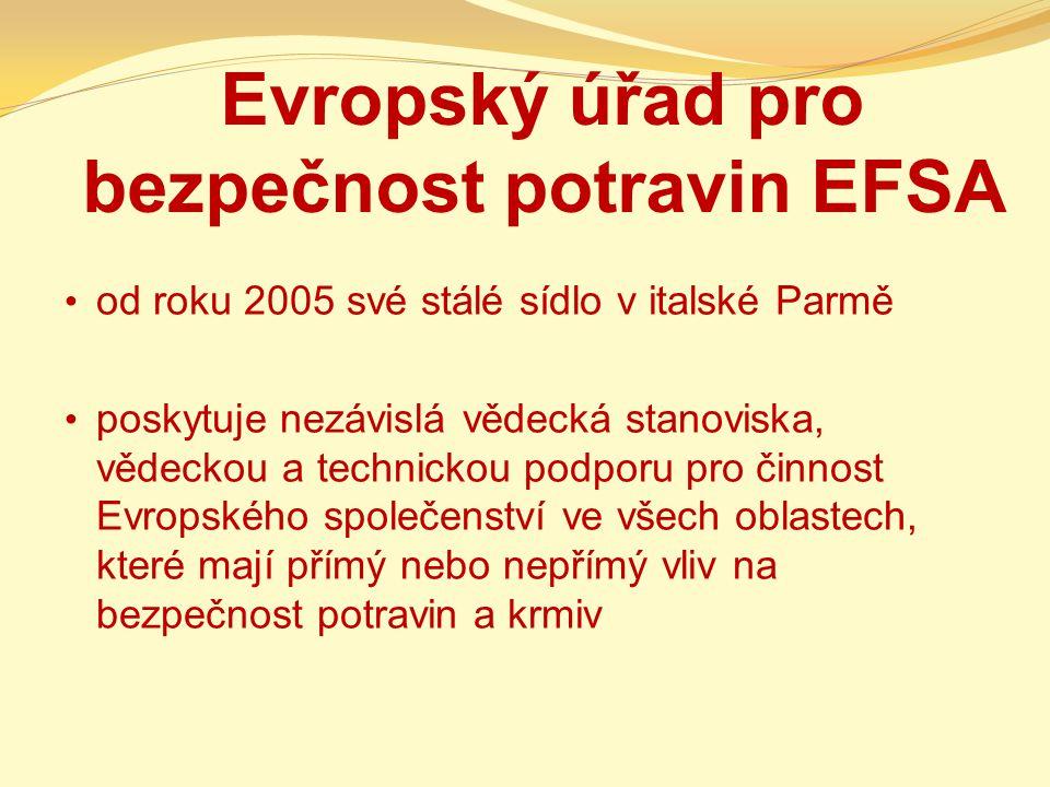 Evropský úřad pro bezpečnost potravin EFSA