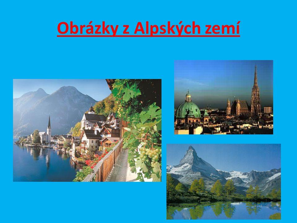 Obrázky z Alpských zemí