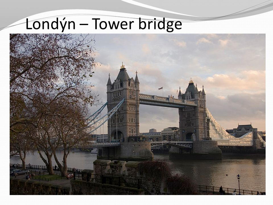 Londýn – Tower bridge