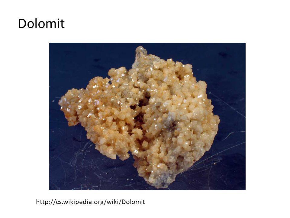 Dolomit http://cs.wikipedia.org/wiki/Dolomit