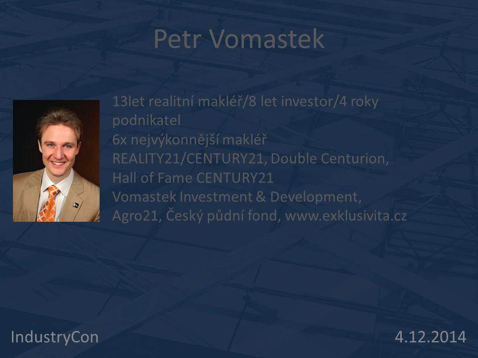 Petr Vomastek IndustryCon 4.12.2014