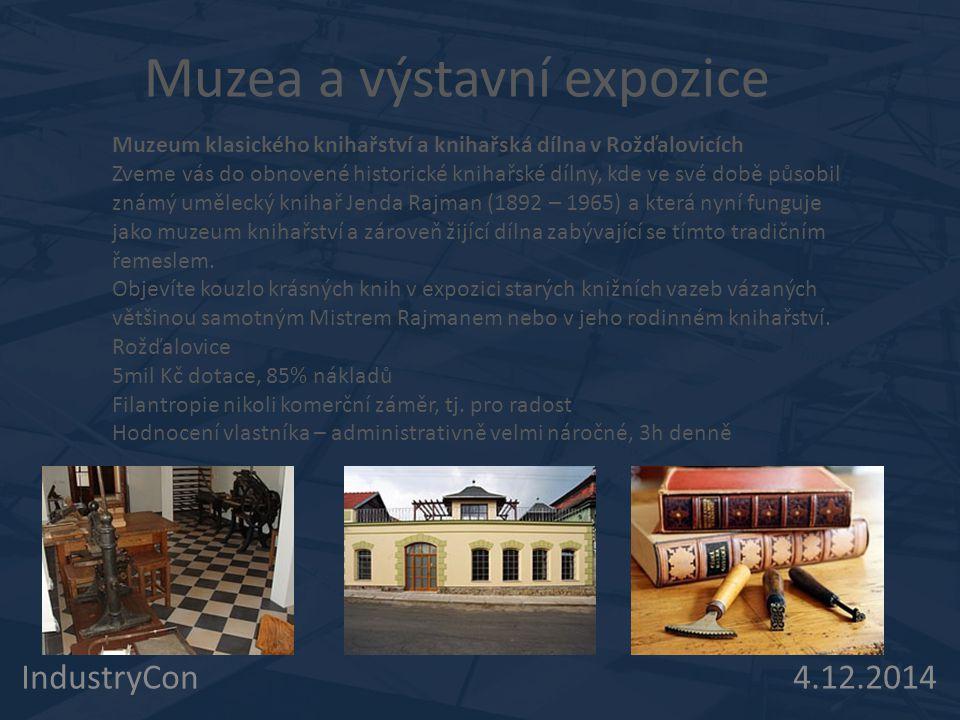 Muzea a výstavní expozice
