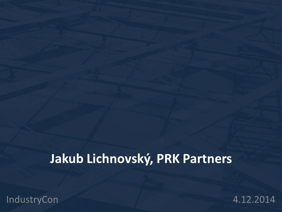 Jakub Lichnovský, PRK Partners
