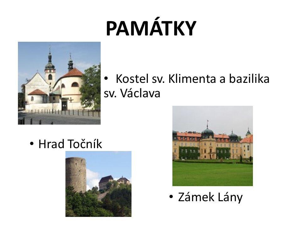 PAMÁTKY Kostel sv. Klimenta a bazilika sv. Václava Hrad Točník