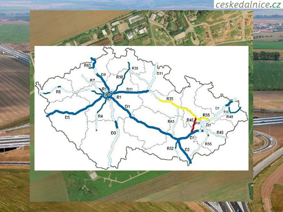 Doprava Hlavní železniční tah (Praha - Ostravsko, Slovensko či Polsko, Praha - Brno - Vídeň) Dálniční tah: