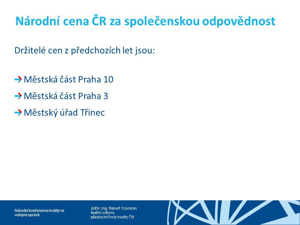 Národní cena ČR za společenskou odpovědnost