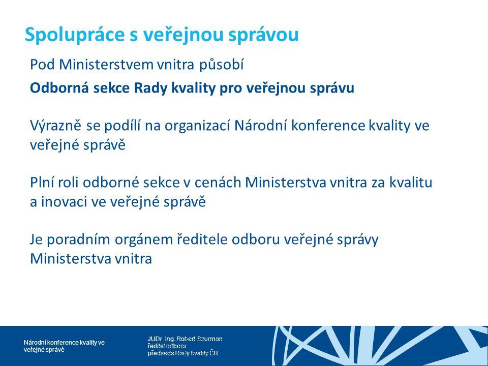 Spolupráce s veřejnou správou