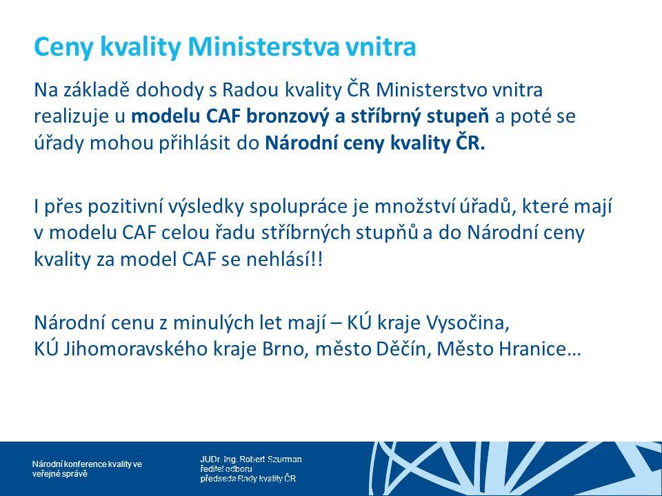 Ceny kvality Ministerstva vnitra