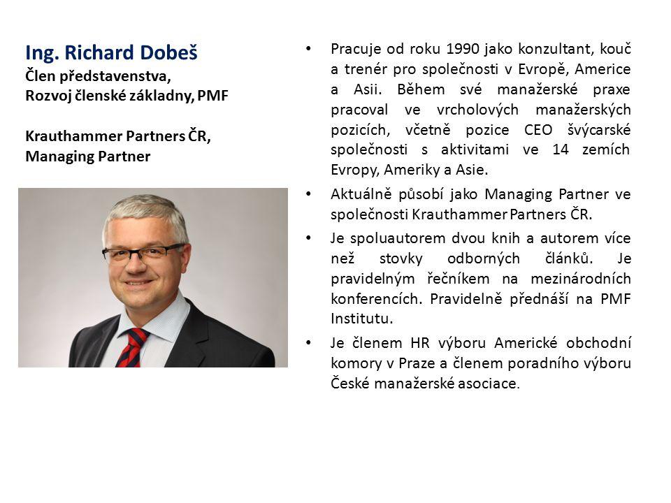 Pracuje od roku 1990 jako konzultant, kouč a trenér pro společnosti v Evropě, Americe a Asii. Během své manažerské praxe pracoval ve vrcholových manažerských pozicích, včetně pozice CEO švýcarské společnosti s aktivitami ve 14 zemích Evropy, Ameriky a Asie.