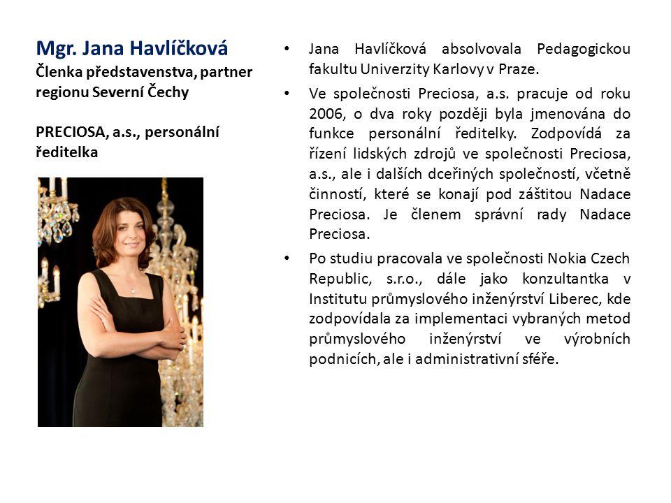 Jana Havlíčková absolvovala Pedagogickou fakultu Univerzity Karlovy v Praze.