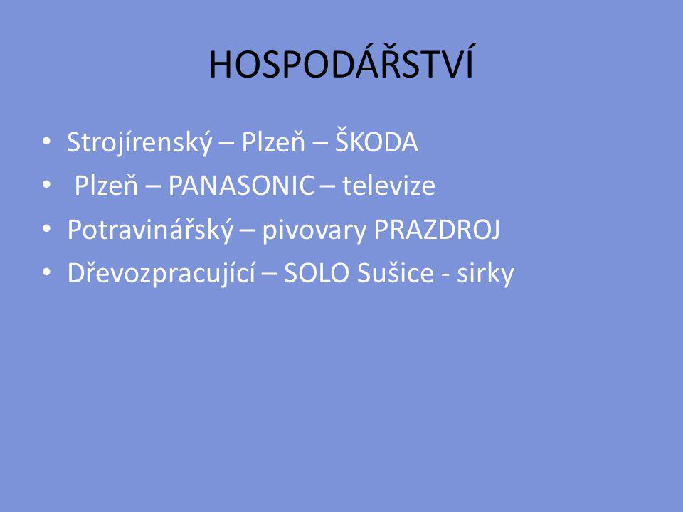 HOSPODÁŘSTVÍ Strojírenský – Plzeň – ŠKODA Plzeň – PANASONIC – televize