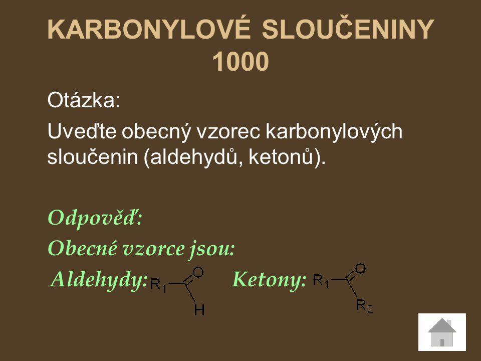 KARBONYLOVÉ SLOUČENINY 1000