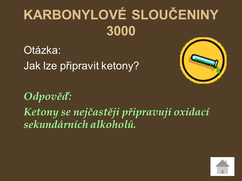 KARBONYLOVÉ SLOUČENINY 3000