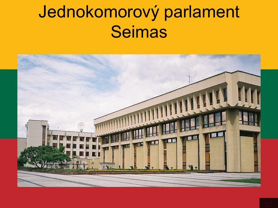 Jednokomorový parlament Seimas