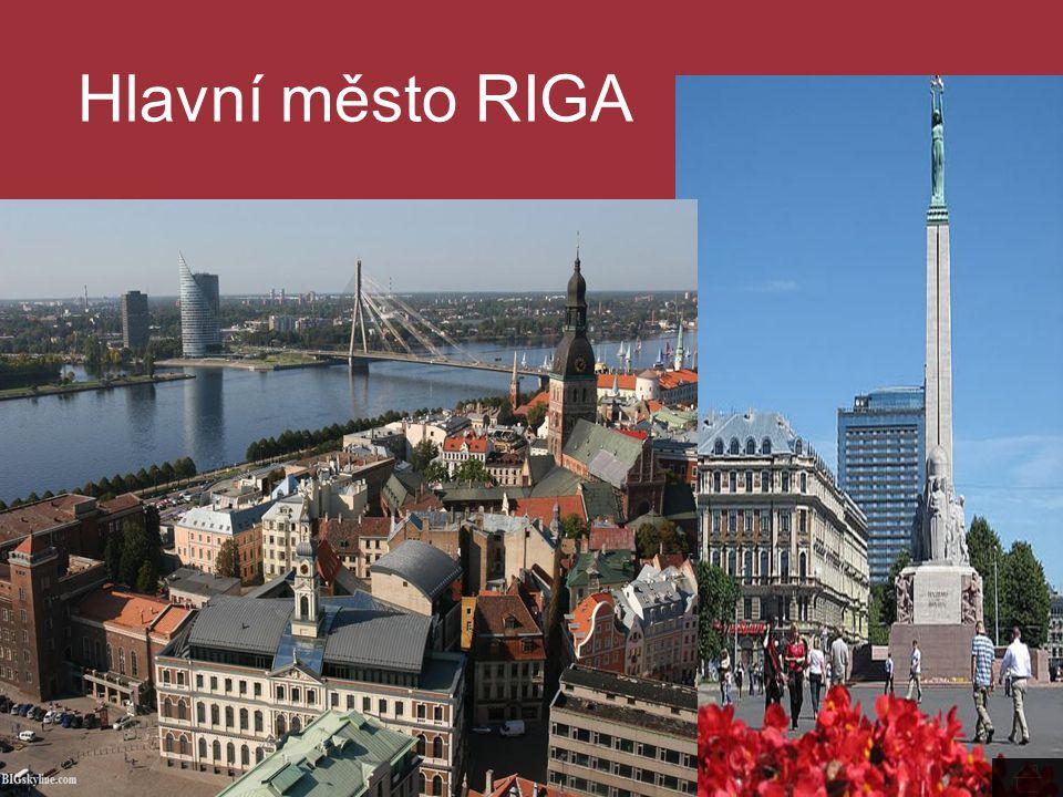 Hlavní město RIGA