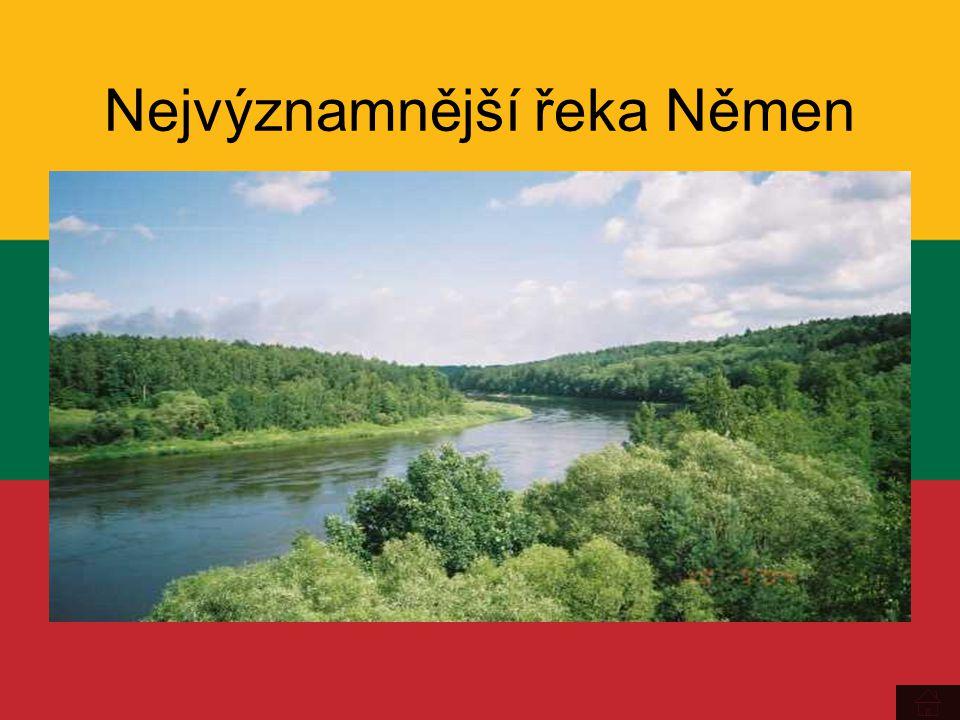 Nejvýznamnější řeka Němen