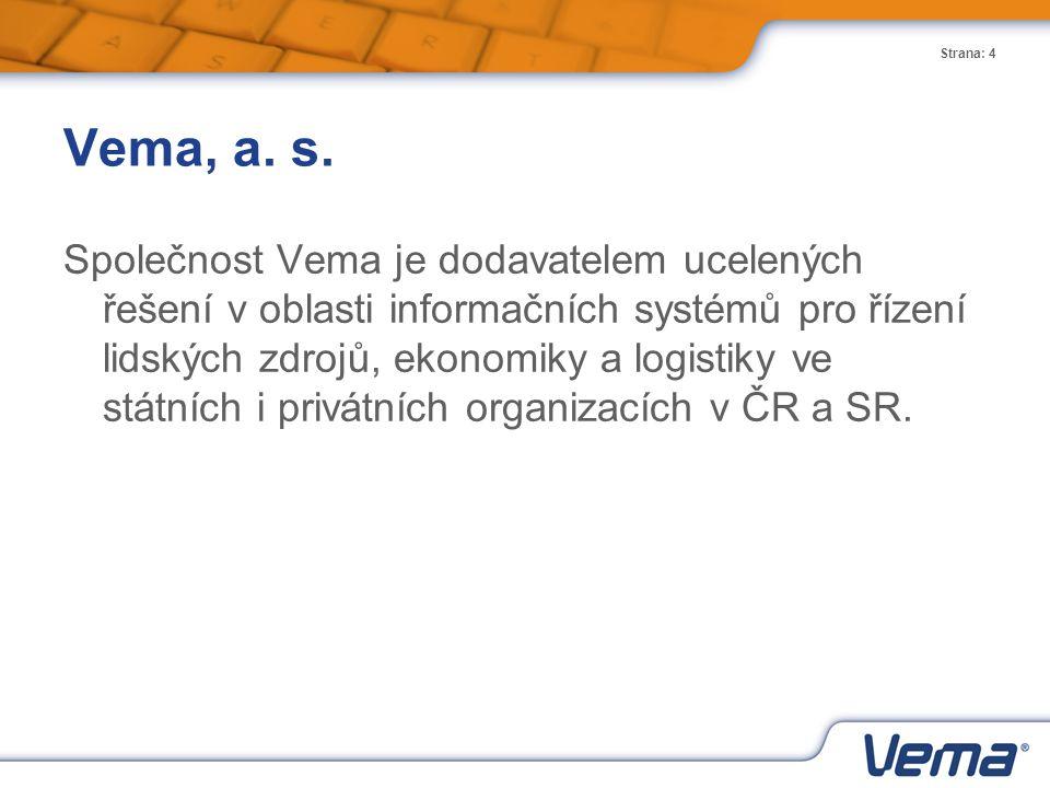 Vema, a. s.