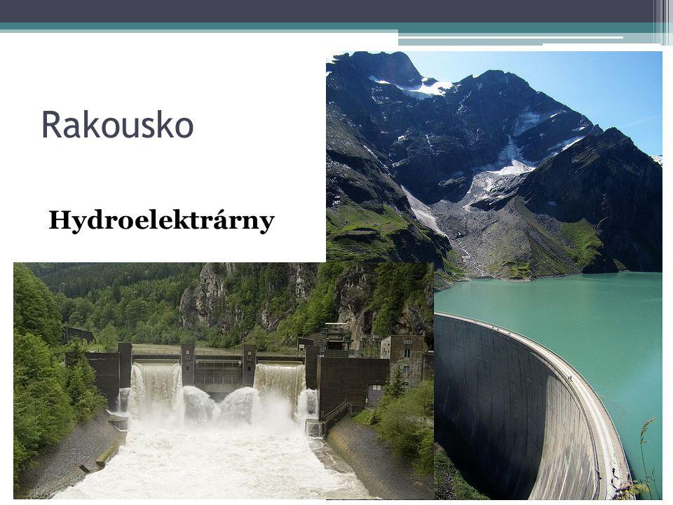 Rakousko Hydroelektrárny