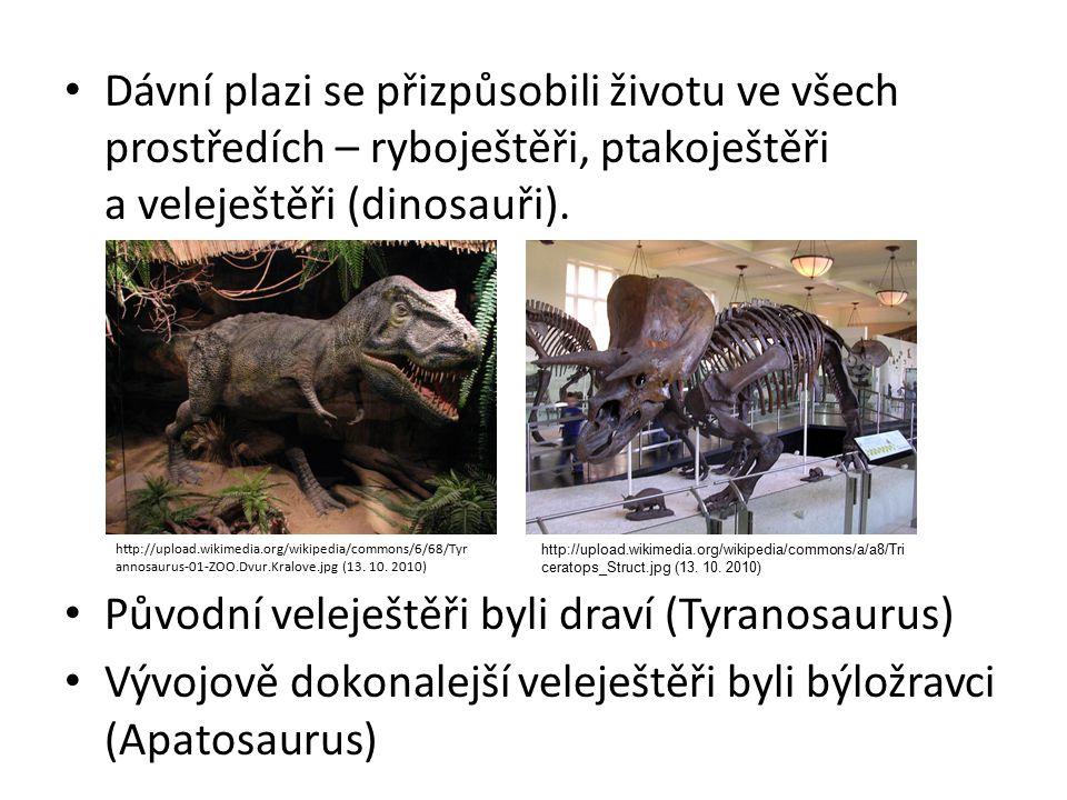 Původní veleještěři byli draví (Tyranosaurus)
