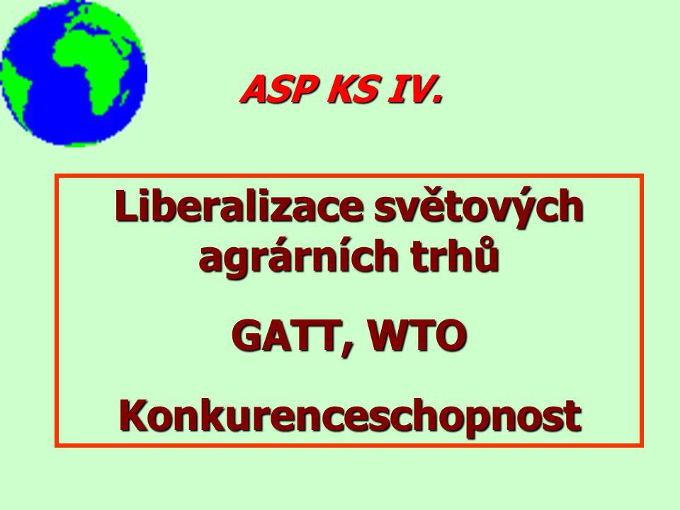 Liberalizace světových agrárních trhů