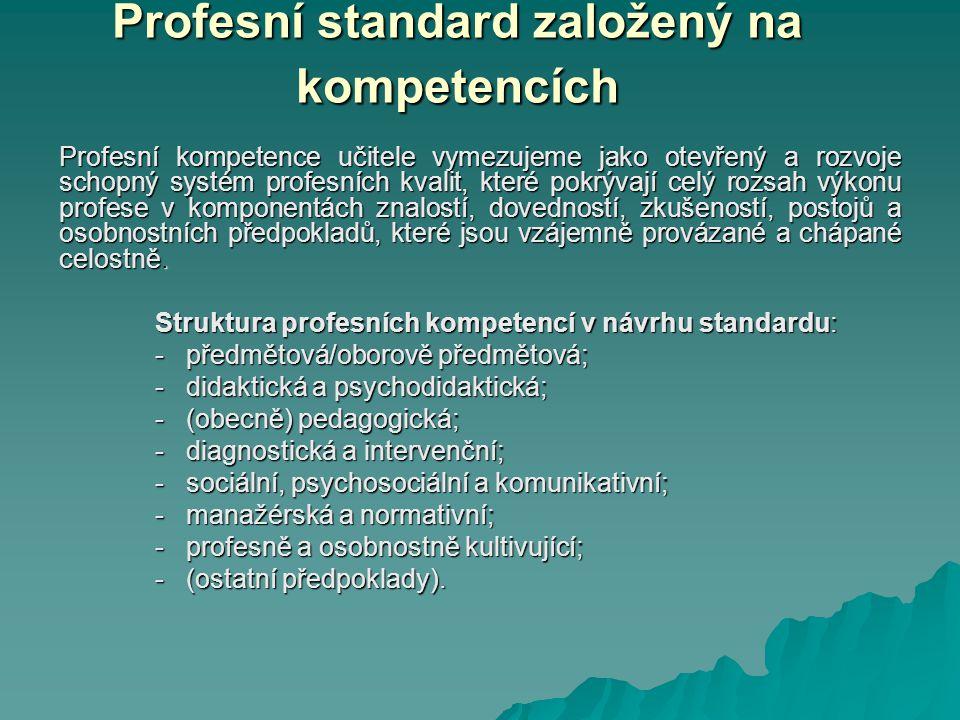 Profesní standard založený na kompetencích