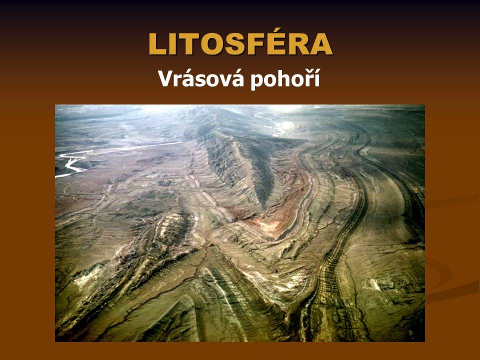 LITOSFÉRA Vrásová pohoří