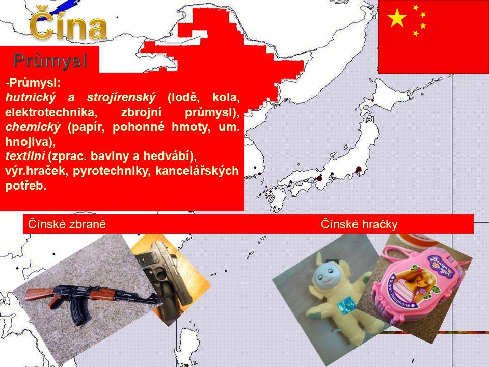Čína Průmysl -Průmysl: