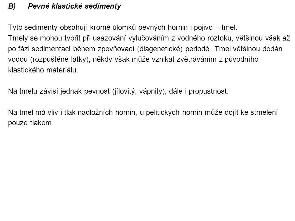 Pevné klastické sedimenty