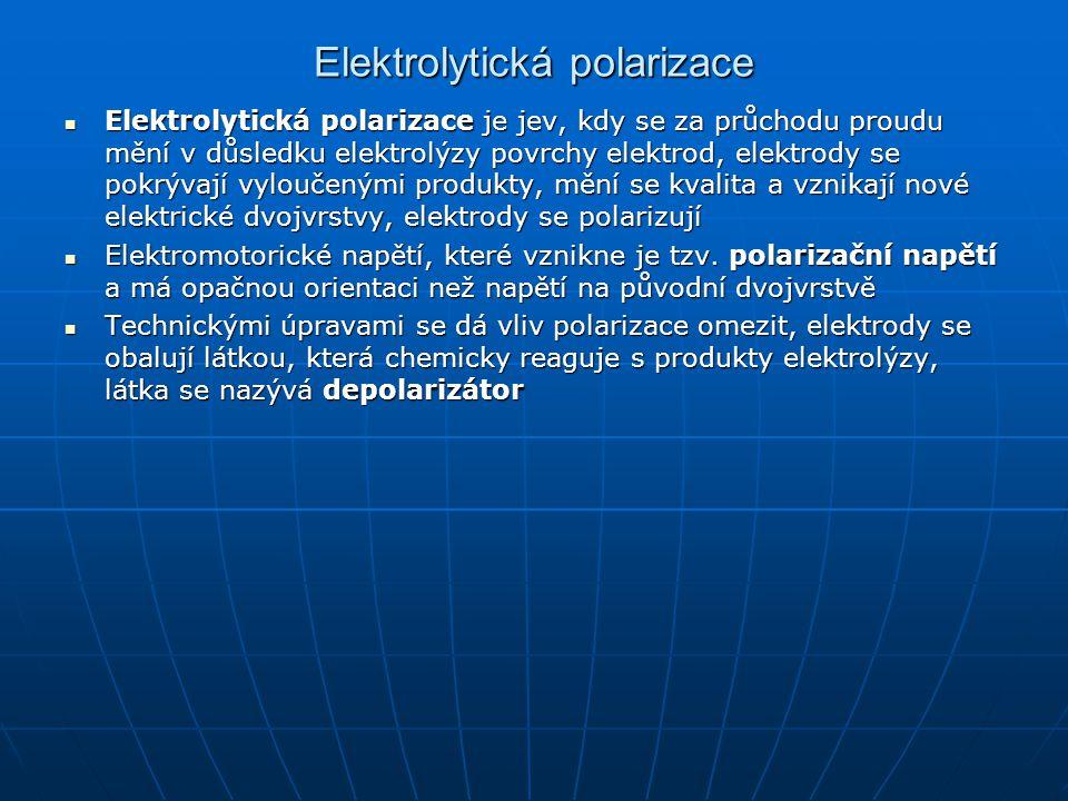 Elektrolytická polarizace