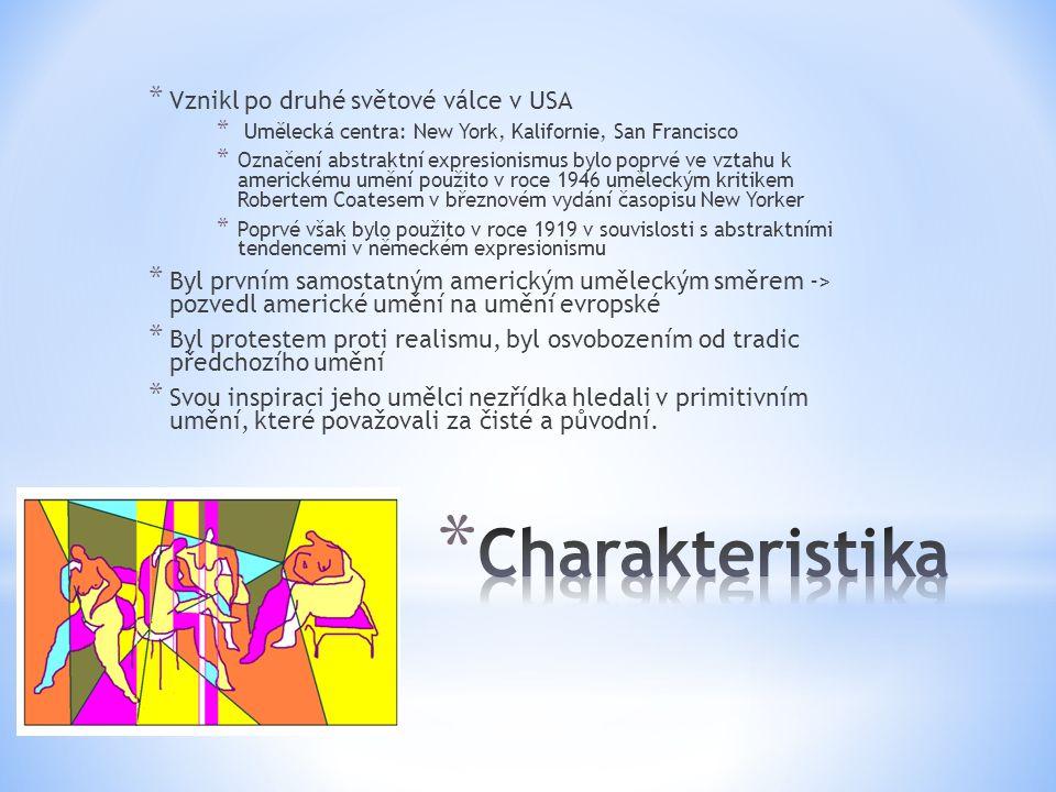Charakteristika Vznikl po druhé světové válce v USA