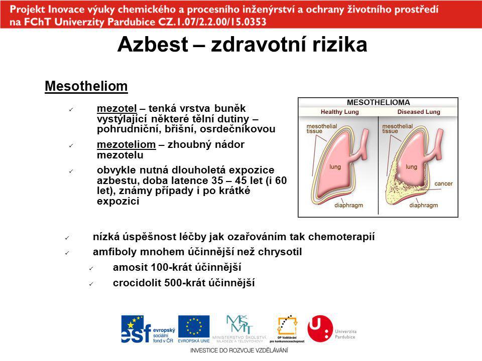 Azbest – zdravotní rizika