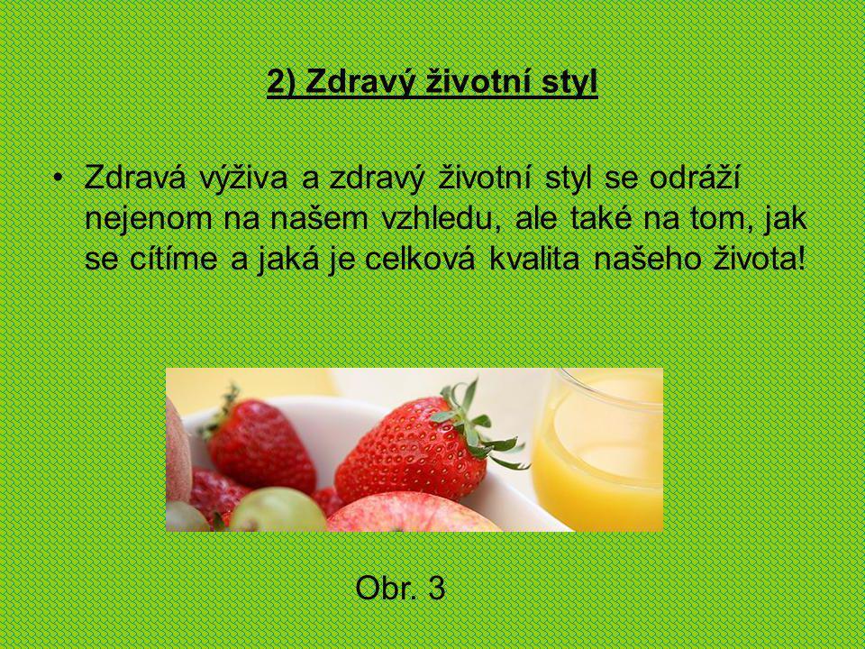 2) Zdravý životní styl