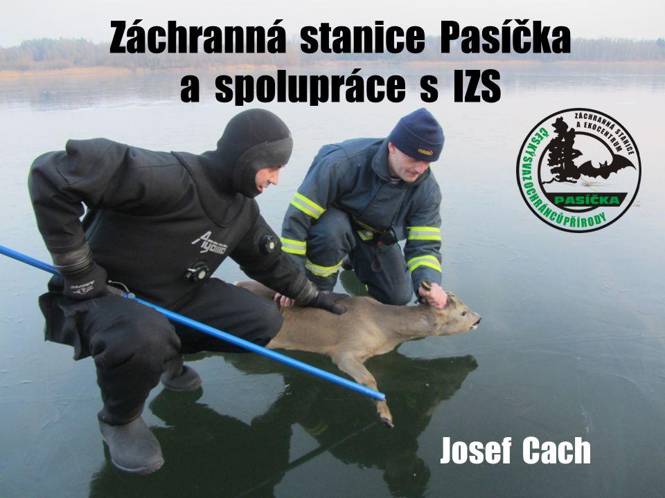 Záchranná stanice Pasíčka a spolupráce s IZS