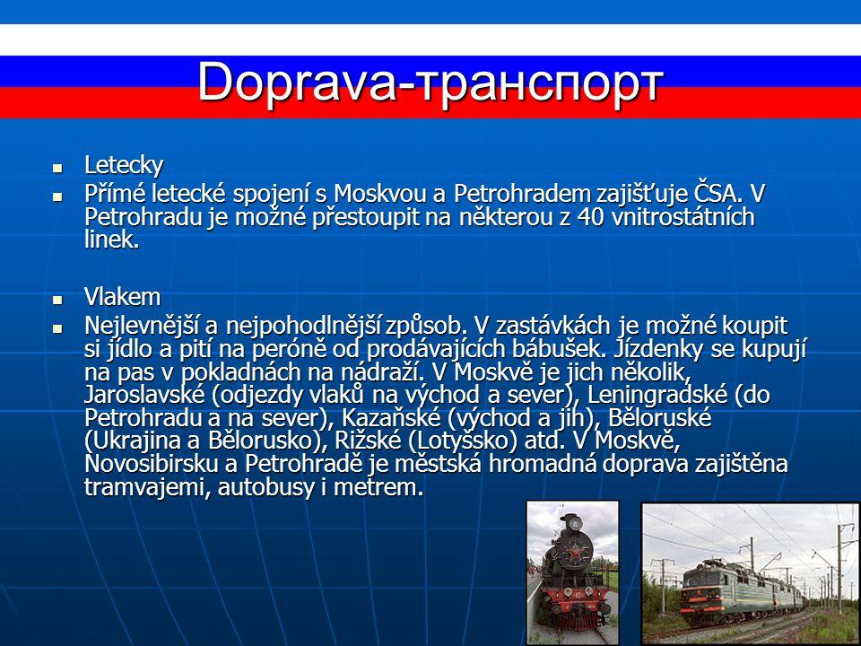 Doprava-транспорт Letecky