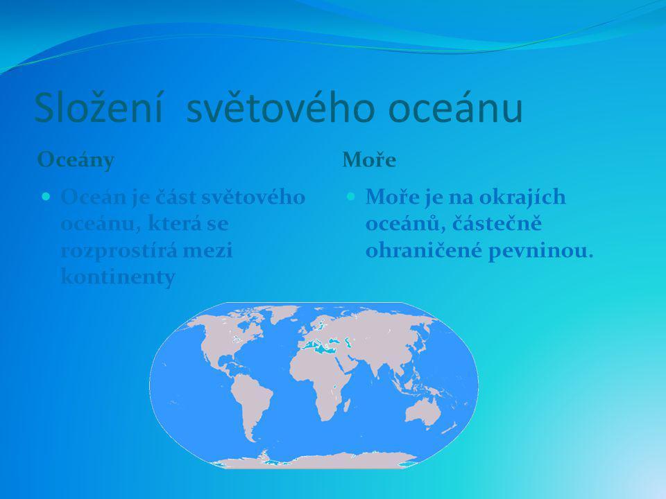 Složení světového oceánu