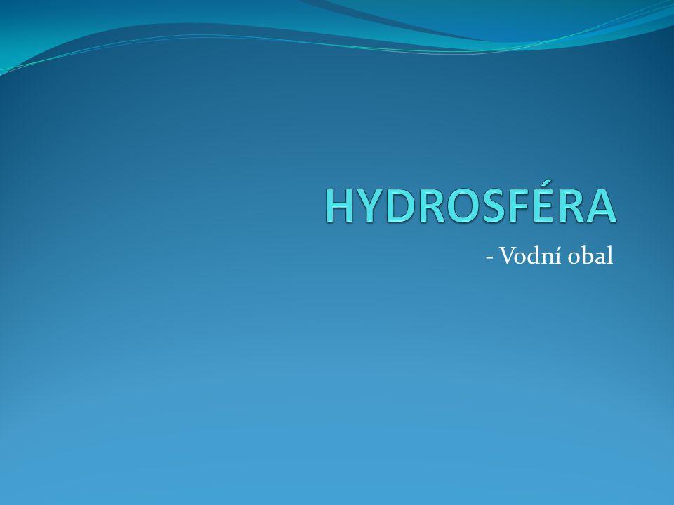 HYDROSFÉRA - Vodní obal