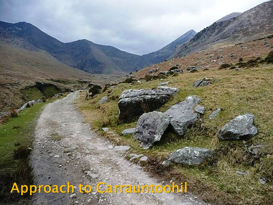 Approach to Carrauntoohil