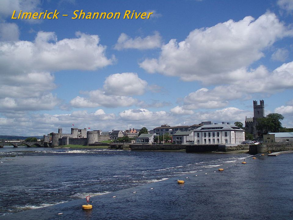 Limerick - Shannon River