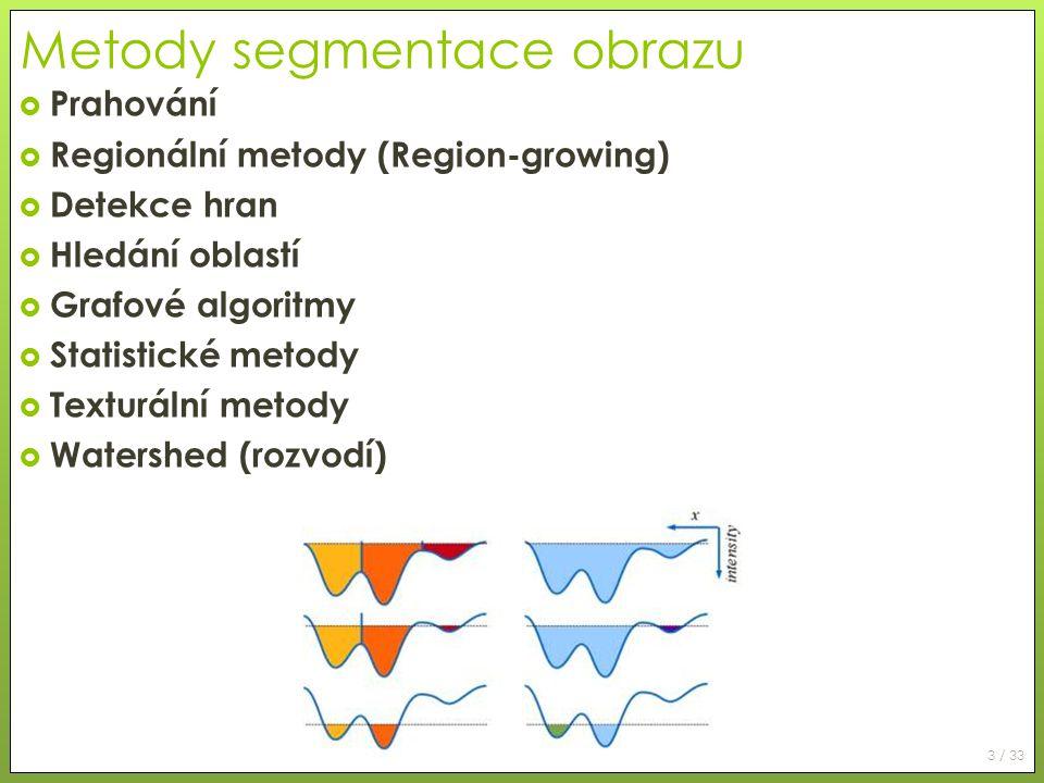 Metody segmentace obrazu