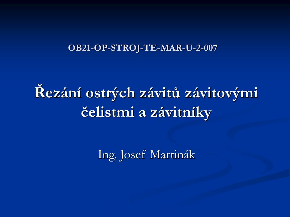 OB21-OP-STROJ-TE-MAR-U-2-007